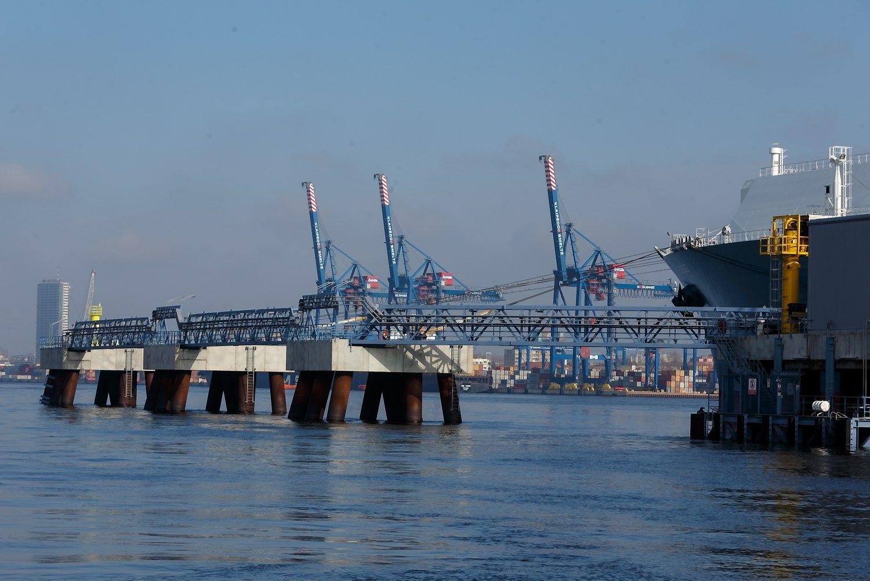 Panaikinti STT įtarimai uosto direkcijos darbuotojui