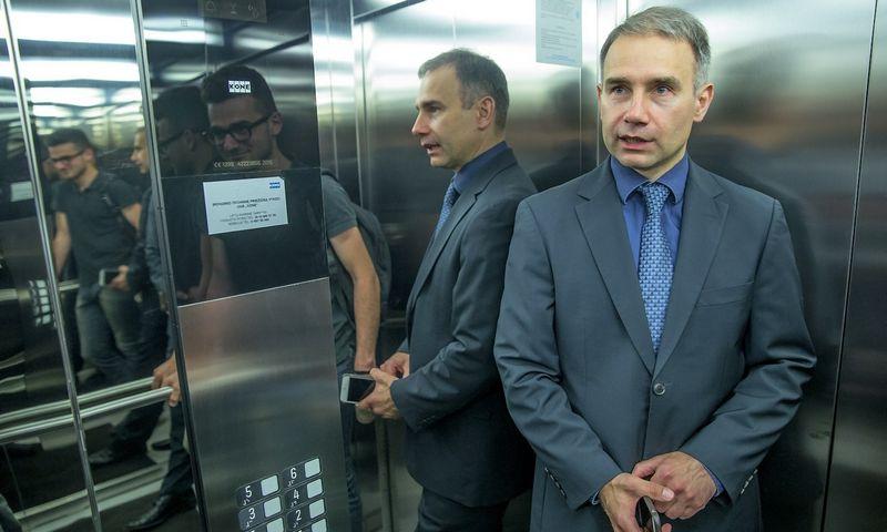"""2015 06 17. Petras Masiulis, telekomunikacijų UAB """"Tele2"""" generalinis direktorius. Vladimiro Ivanovo (VŽ) nuotr."""