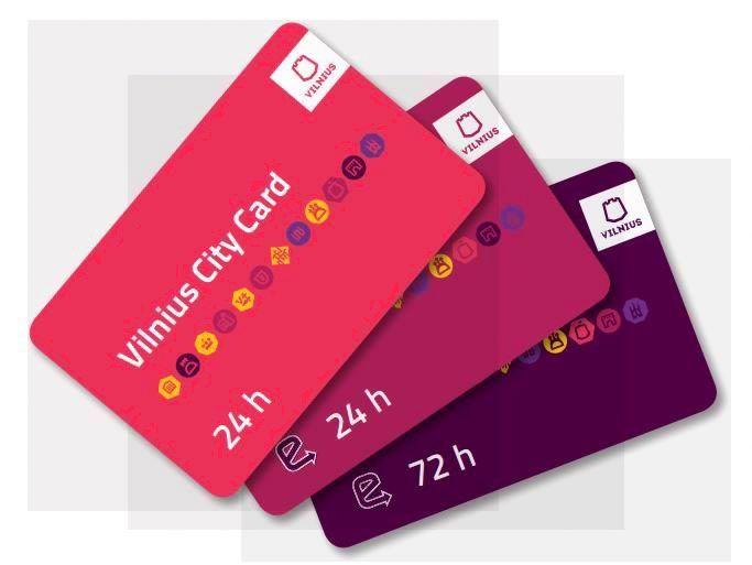 Atnaujina Vilniaus turisto kortelę, kviečia verslą dalyvauti