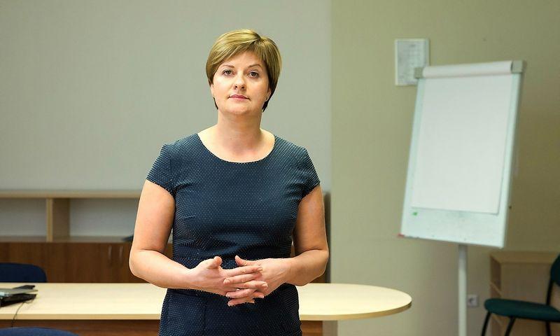 Jurgita Juškevičienė, DNB banko Kokybės ir procesų tobulinimo departamento vadovė. Juditos Grigelytės (VŽ) nuotr.