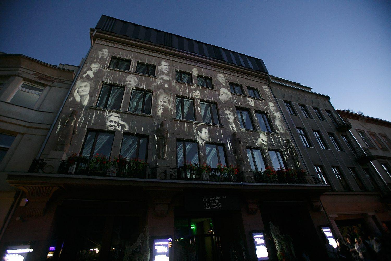 Po rekonstrukcijos Kauno dramos teatras prad�jo sezon�