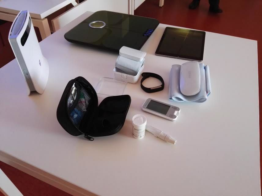 Nuotolinio pacientų stebėjimo sistema gali sumažinti eiles poliklinikose