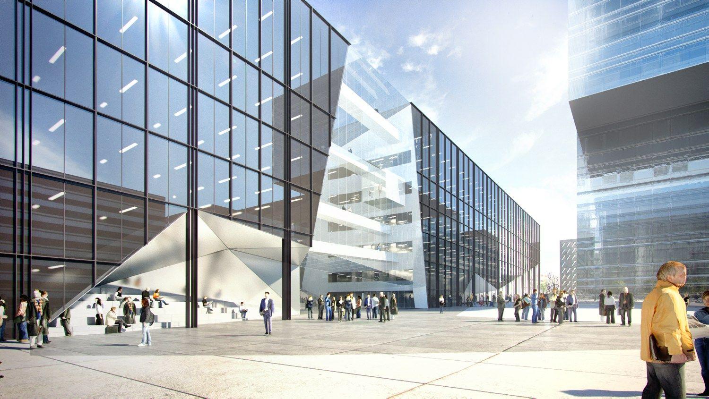 �algirio stadiono teritorijoje � �Hanner� verslo centras