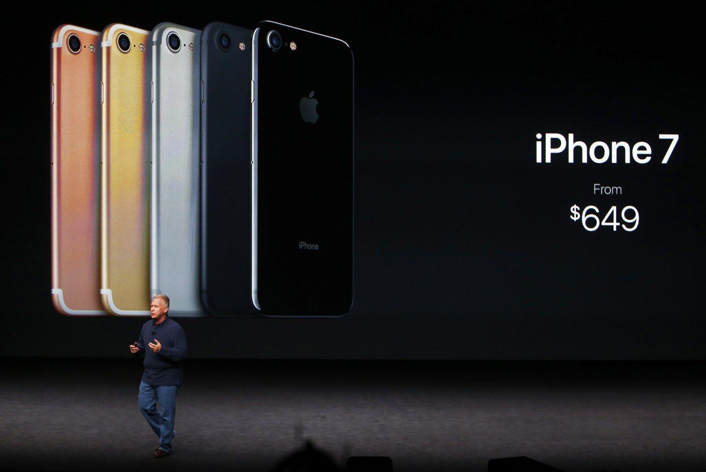 """""""iPhone 7"""" Lietuvoje pasirodys kitą savaitę"""