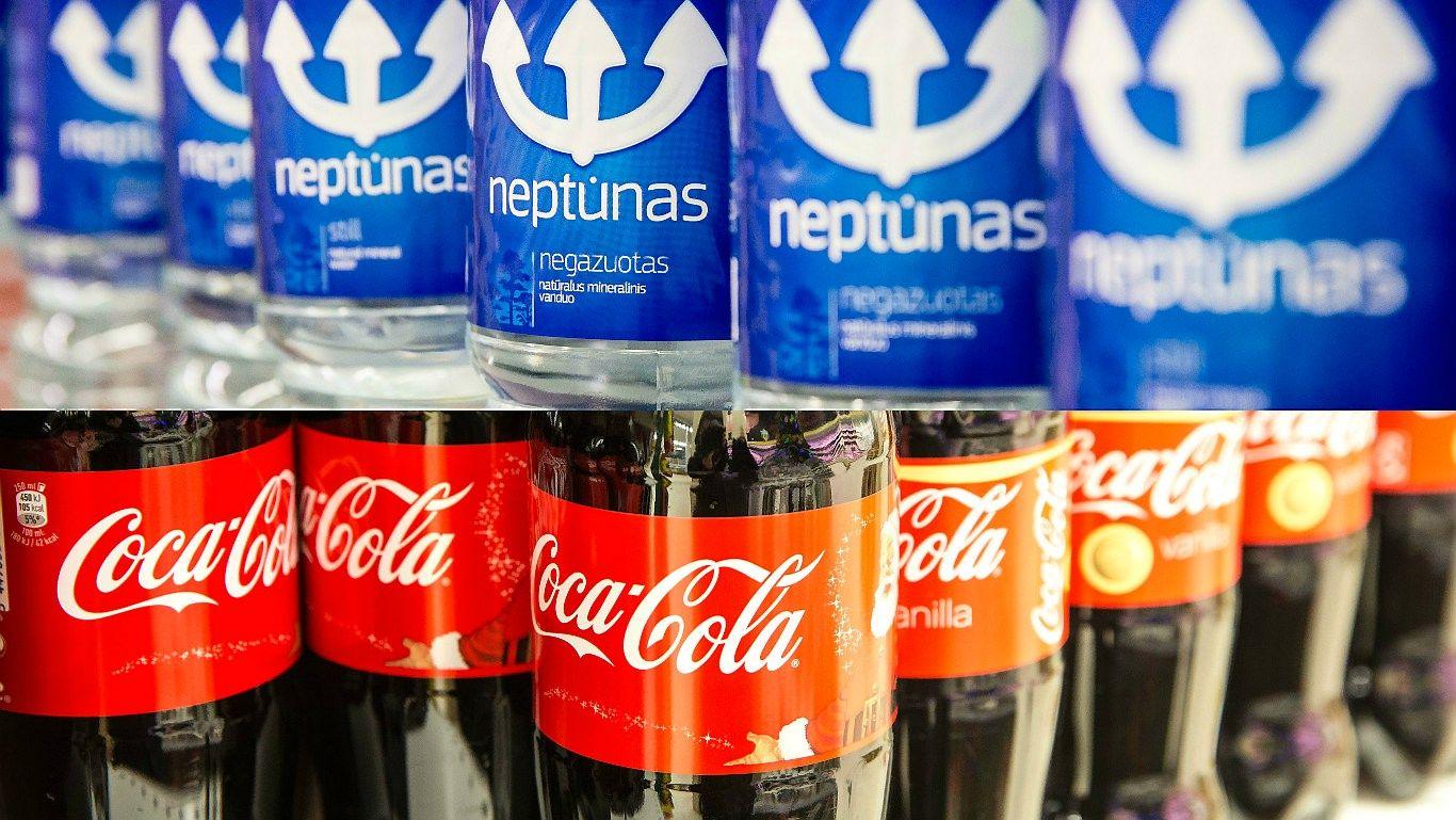 """Dar vienas sandoris: 50% """"Neptūno"""" akcijų įsigyja """"The Coca-Cola Company"""""""