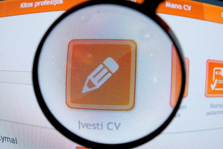 Norint saugoti CV reikalingas kandidato sutikimas