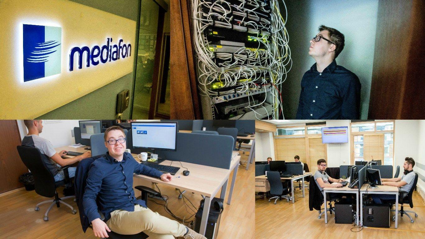 """Pirmosios dienos """"Mediafon"""": tobulėjimas darbe vietoj magistro studijų"""
