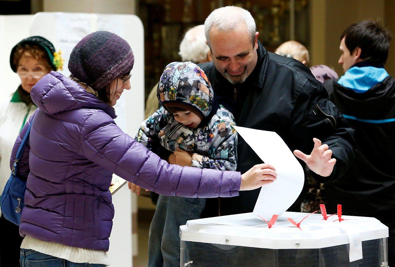 Rinkimai Rusijoje: skundų skaičius siekia 500
