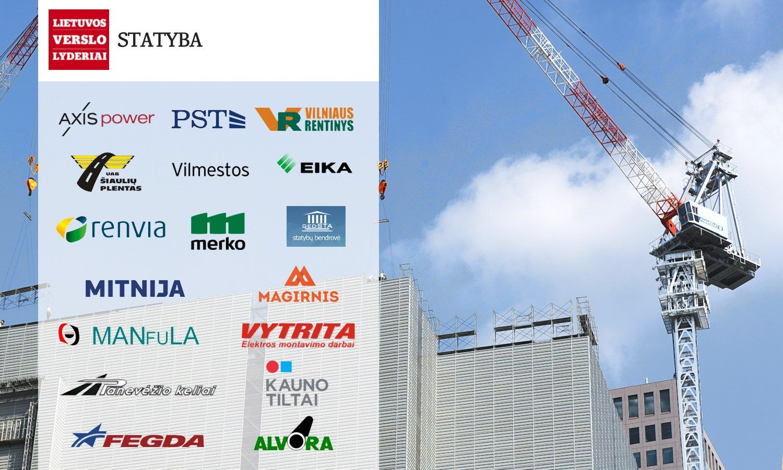 Išrinkta statybos sektoriaus lyderė