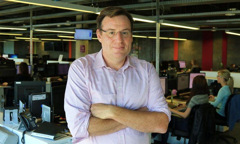 """Mike'as Gordonas, """"CallCredit Information Group"""" vykdomasis direktorius. Dariaus Versecko (VŽ) nuotr."""