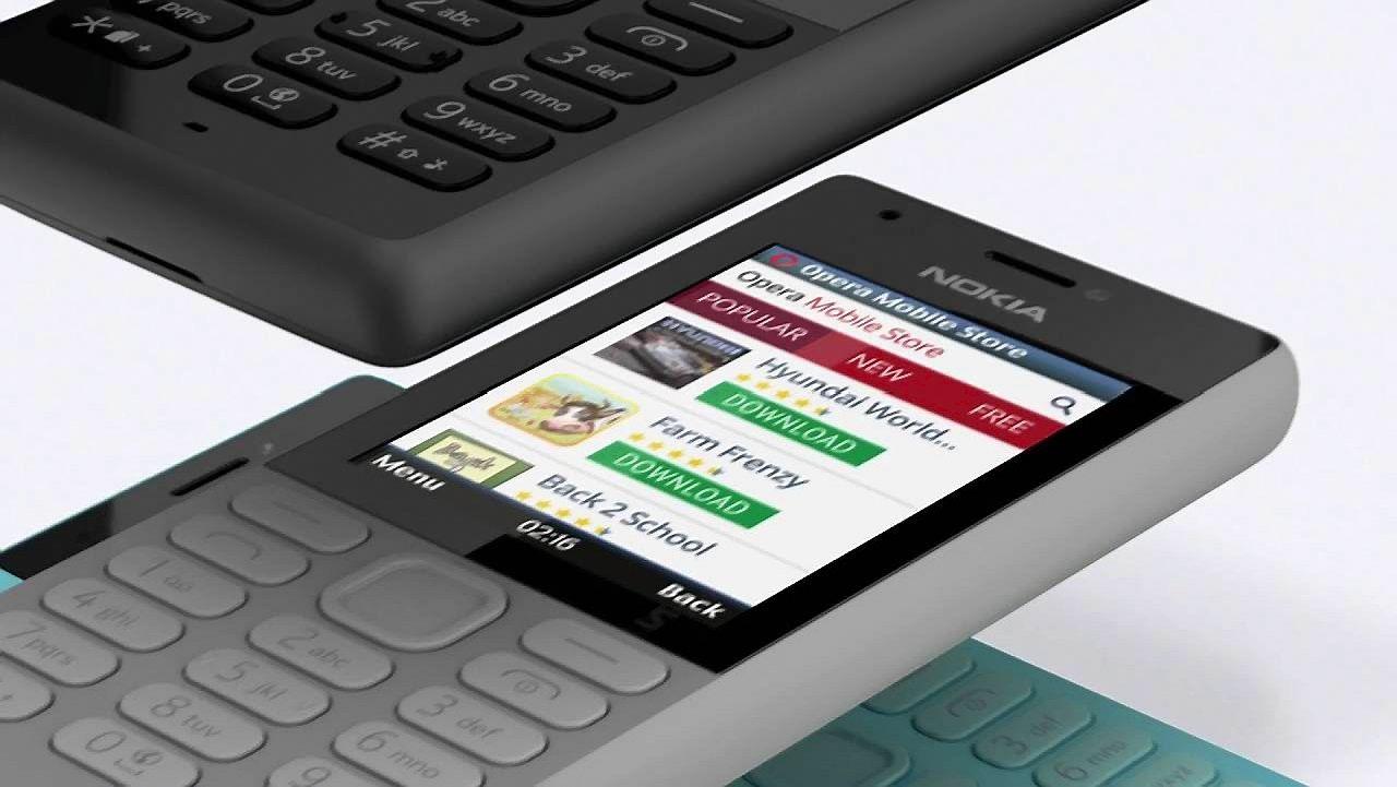 """""""Microsoft"""" išleido """"Nokia"""" telefoną už 37 USD"""