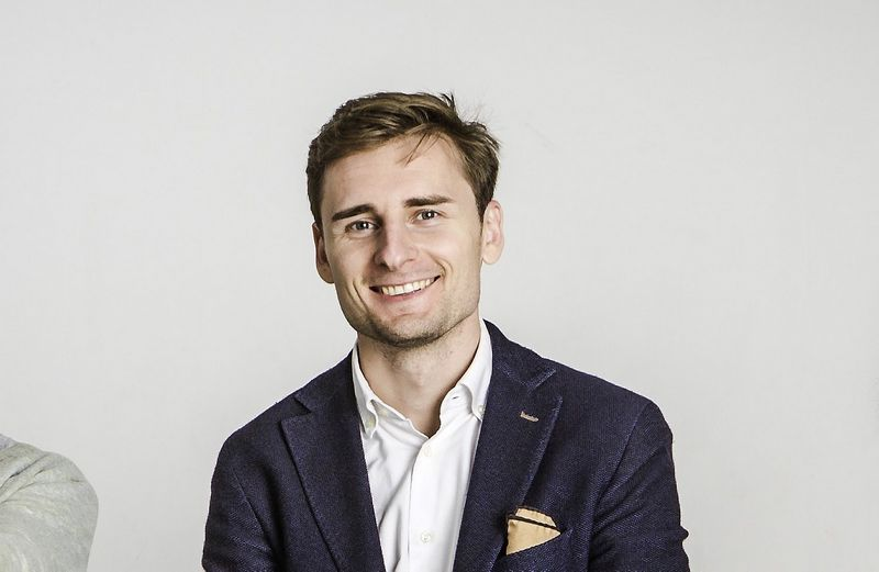 """Raimondas Kulbergas, startuolio """"Funderful"""" vadovas. """"Labs of Latvia"""" nuotr."""