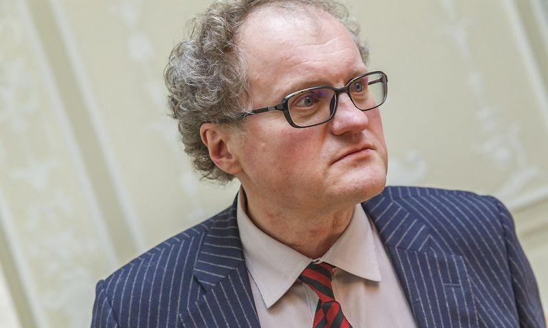 Filosofas Leonidas Donskis. Vladimiro Ivanovo (VŽ) nuotr.