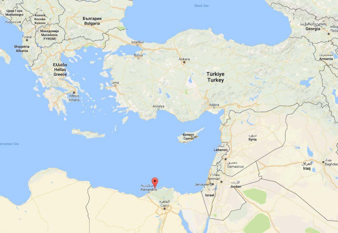 Prie Egipto krantų nuskendo laivas su šimtais migrantų