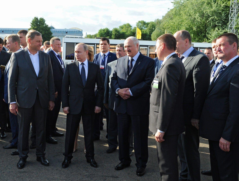 Rusijos ir Baltarusijos konfliktas dėl dujų kainų nesibaigia