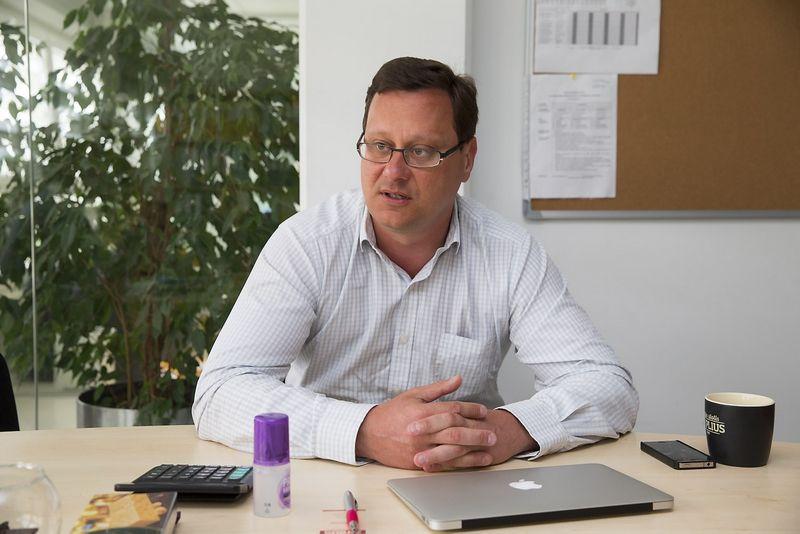 """Tomas Andrejauskas, UAB """"SatiMed"""" plėtros vadovas Vladimiro Ivanovo (VŽ) nuotr."""