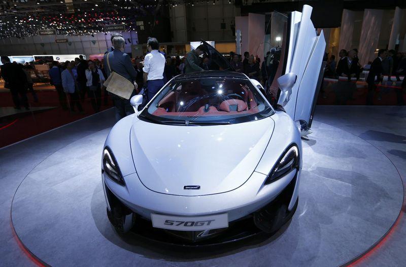 """""""McLaren 570GT"""".  """"Reuters"""" / """"Scanpix"""" nuotr."""