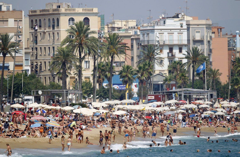 Barselona nubaud� �Tripadvisor� u� neteis�tai nuomojam� b�st� reklam�