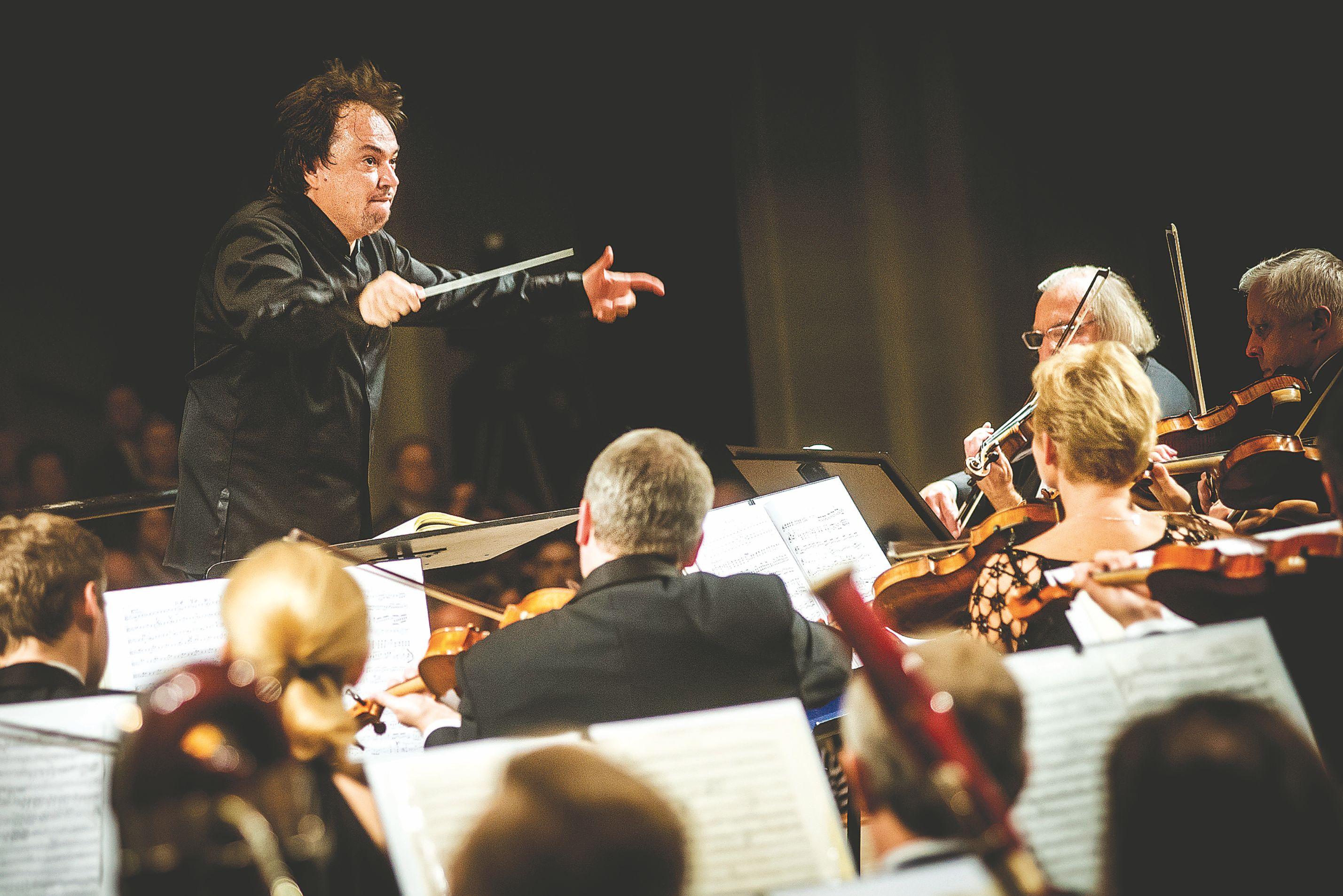 Kamerinio orkestro sezono prad�ia � su Sergejumi Krylovu