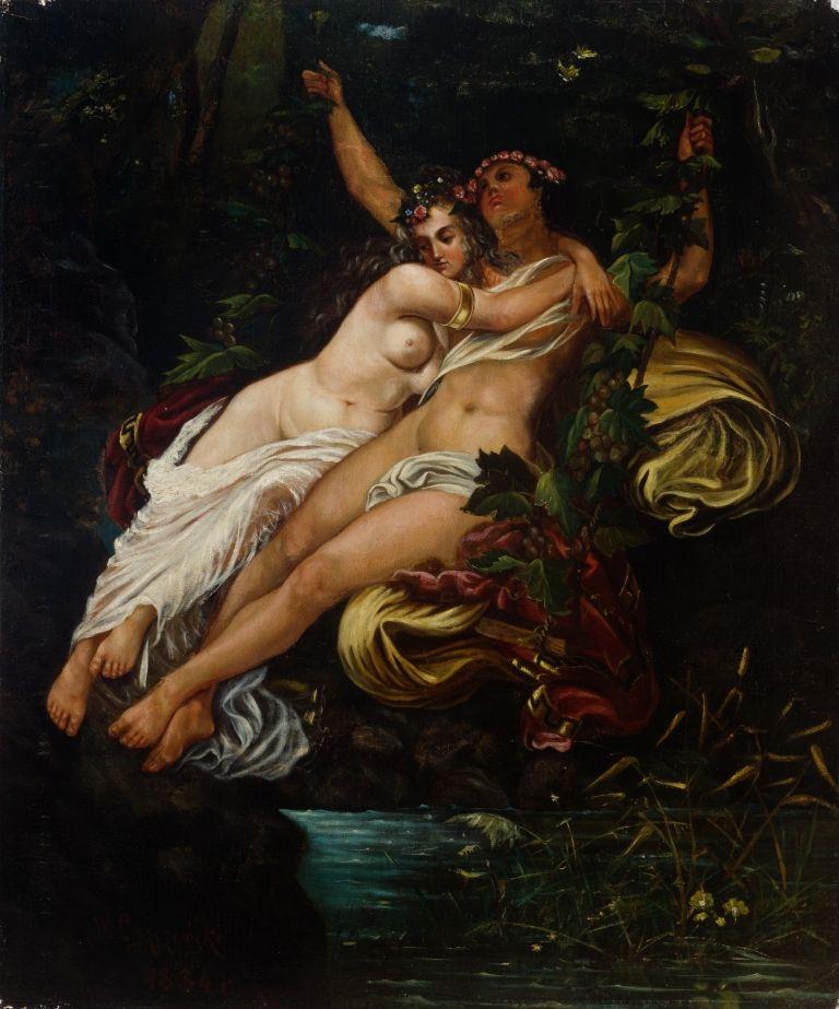 Pakalb�kim apie men�: �Dionisas ir Ariadn�