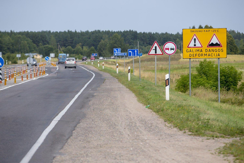 Kelias Vilnius–Utena gauna Junckerio pinigus, konkurso teks palaukti