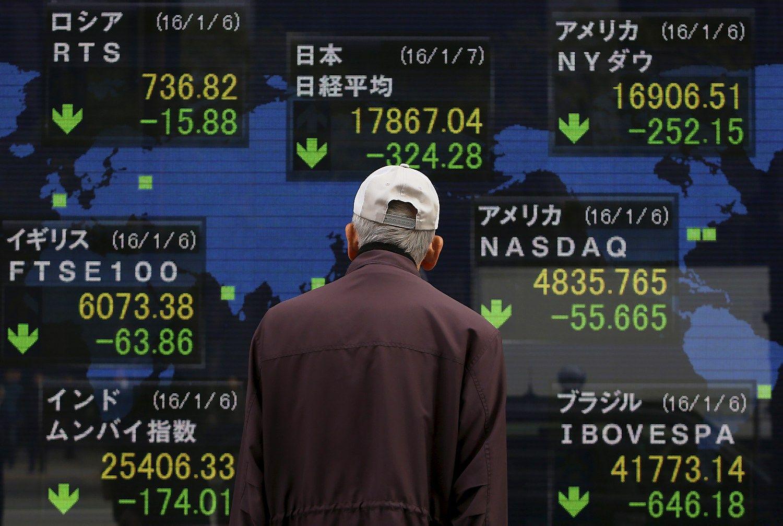Kinijos sul�t�jimas � did�iausia gr�sm� pasaulio ekonomikai