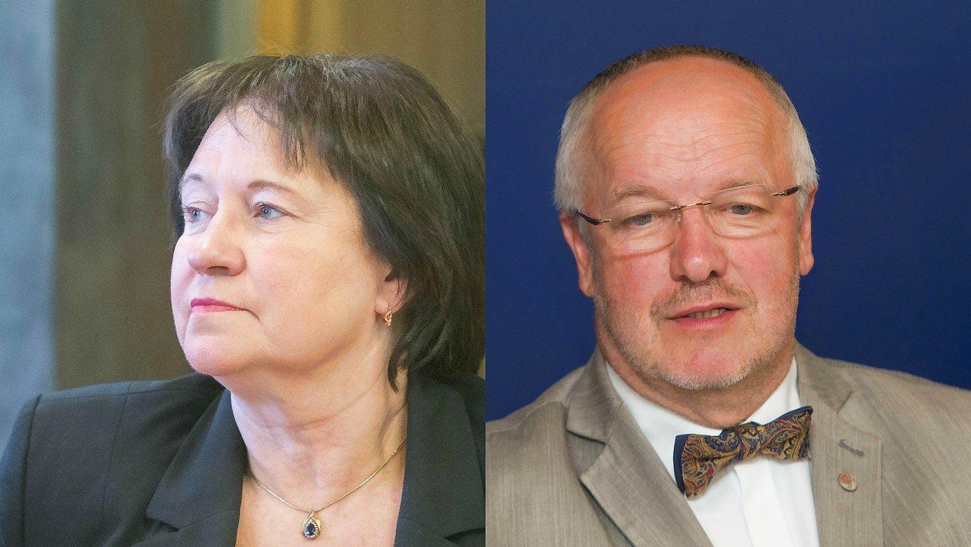 Žlugo dvi opozicijos inicijuotos interpeliacijos