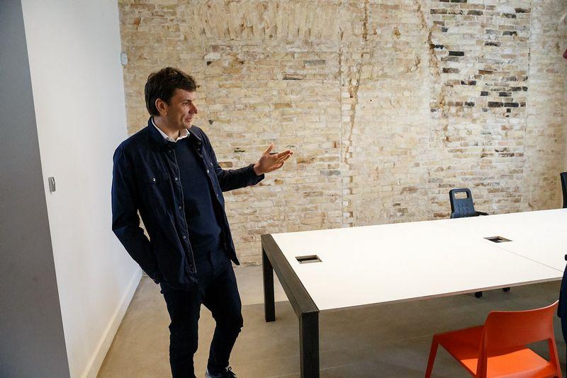"""Darius Žakaitis, technologijų parko """"Vilnius Tech Park"""" direktorius. Vladimiro Ivanovo (VŽ) nuotr."""