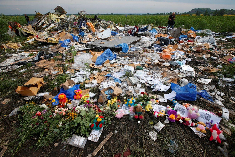 Prokurorai: MH17 numu�usi raketa atkeliavo i� Rusijos