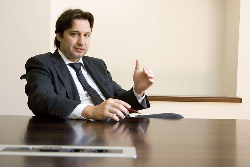 "Andrej Cyba, ""INVL Finasta"" valdybos pirmininkas. Vladimiro Ivanovo (VŽ) nuotr."