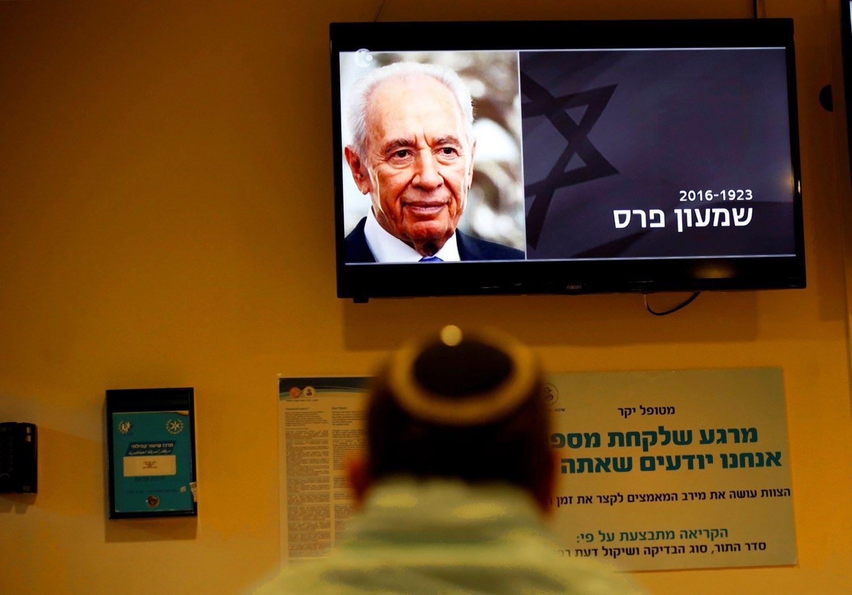 Mir� buv�s Izraelio prezidentas Shimonas Peresas