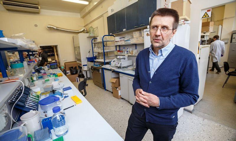 Prof. dr. Virginijus Šikšnys, Vilniaus universiteto  Biotechnologijos instituto tarybos pirmininkas, biochemikas, mokslininkas, DNR redagavimo tyrėjas. Vladimiro Ivanovo (VŽ) nuotr.