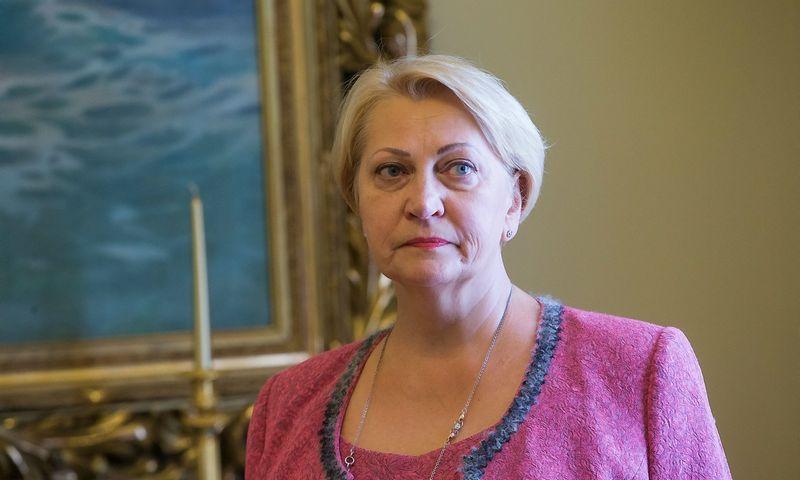 """Rasa Budgergytė, finansų ministrė: """"Labai svarbu, kad EFSI instrumentai nekonkuruotų su kitais jau veikiančiais finansiniais mechanizmais, įskaitant ir ES struktūrinius bei investicinius fondus. Kitaip tariant, kad papildytų jau esamus finansavimo šaltinius"""".   Juditos Grigelytės (VŽ) nuotr."""