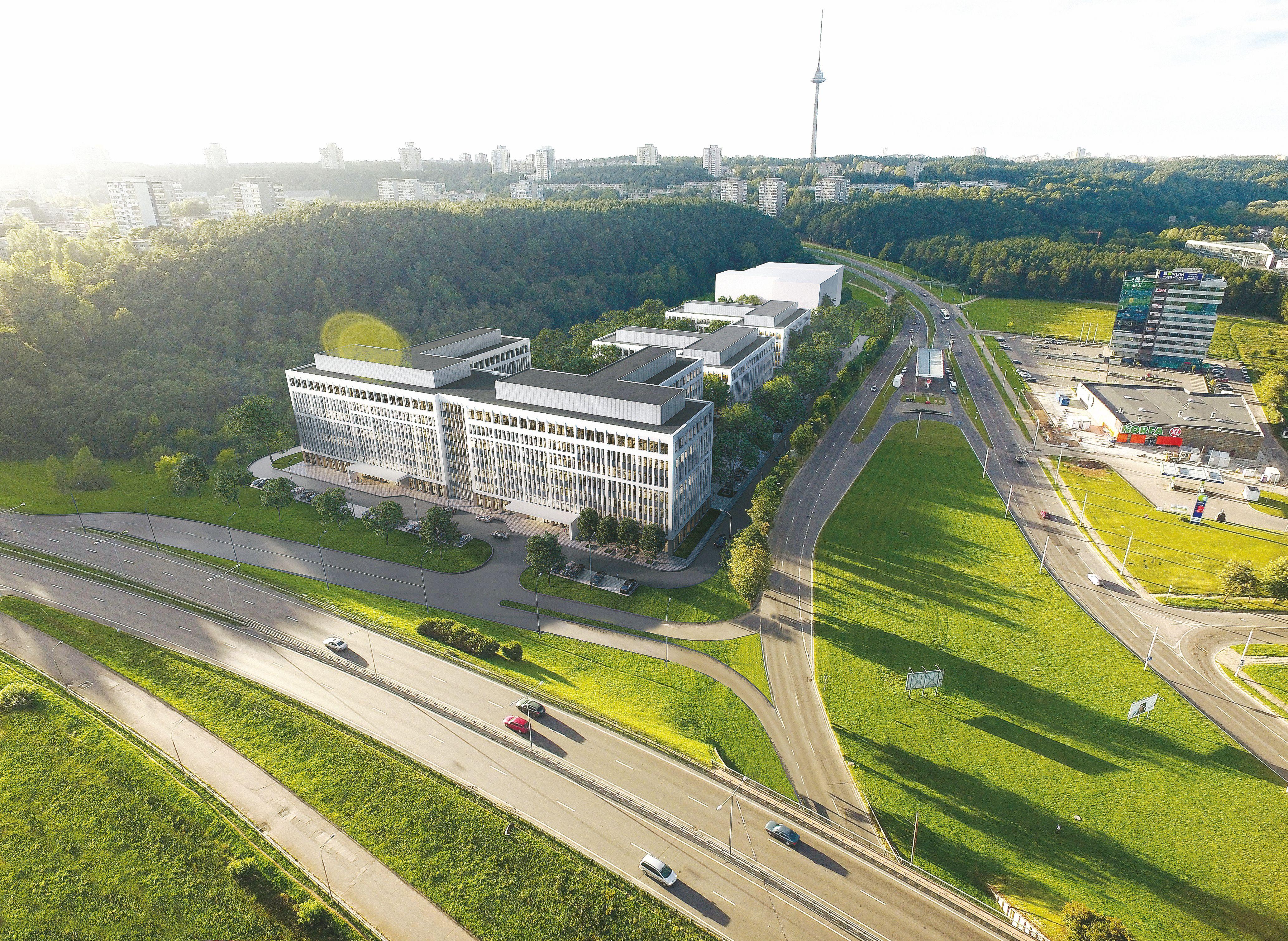 100 mln. Eur investicija: Vilniuje � dar vienas verslo parkas