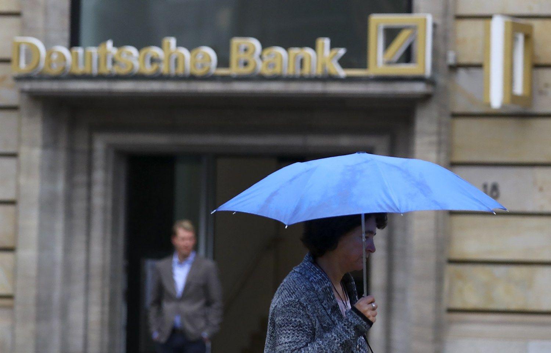 �Deutsche Bank� dorojasi su nerviniu rink� tiku