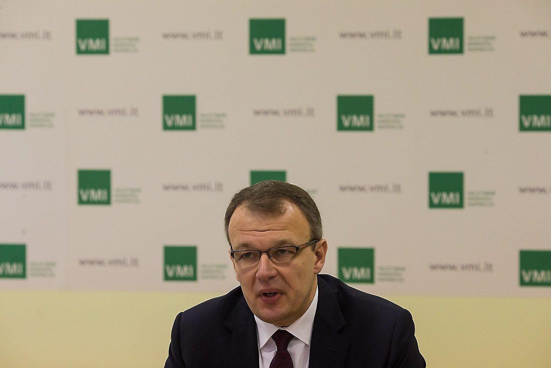 Startuoja i�manioji VMI sistema: amnestija iki Nauj�j�