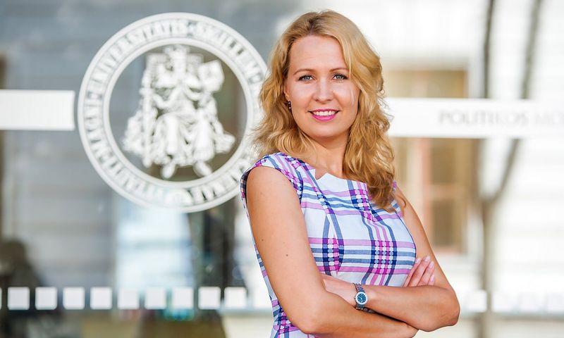 Dr. Gintarė Žukaitė, Vytauto Didžiojo universiteto Politikos mokslų ir diplomatijos fakulteto prodekanė. Universiteto nuotr.