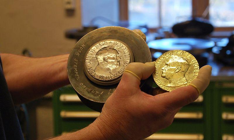 """Norvegijos monetų kalykla """"Norske Myntverket"""" Kongsbergo mieste. Joje kaldinami Nobelio taikos premijos medaliai. Pagamintas Nobelio taikos medalis. Beatričės Laurinavičienės nuotr."""