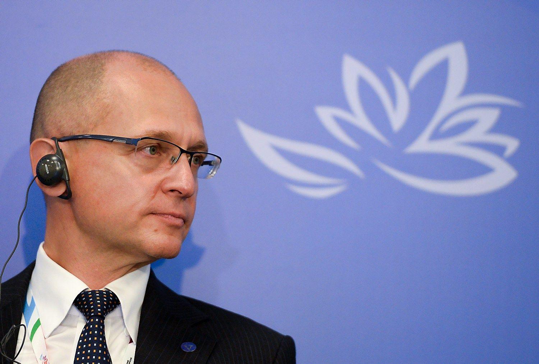 Rusijos ekspremjeras Kirijenka sugrįžo į Kremlių
