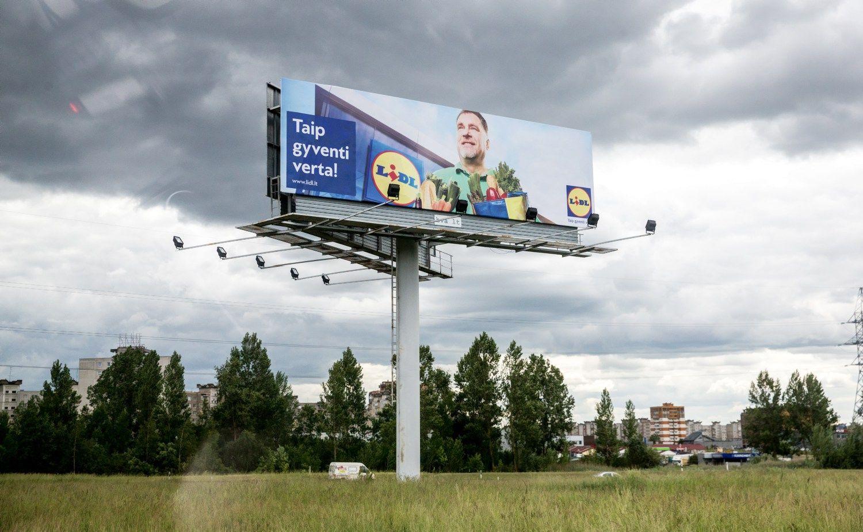"""""""Lidl"""" – jau didžiausių reklamos užsakovų dešimtuke"""
