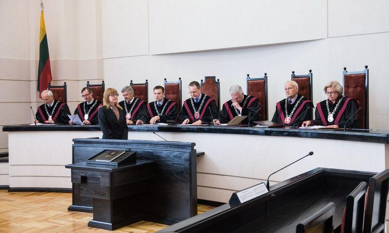Konstitucinis Teismas. Juditos Grigelytės (VŽ) nuotr.