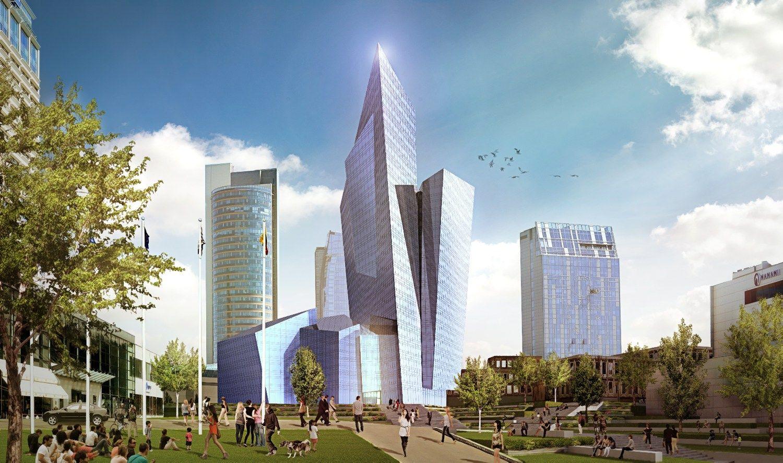 """Libeskindo sukurtame viešbutyje – naujas """"Radisson"""" vardas"""
