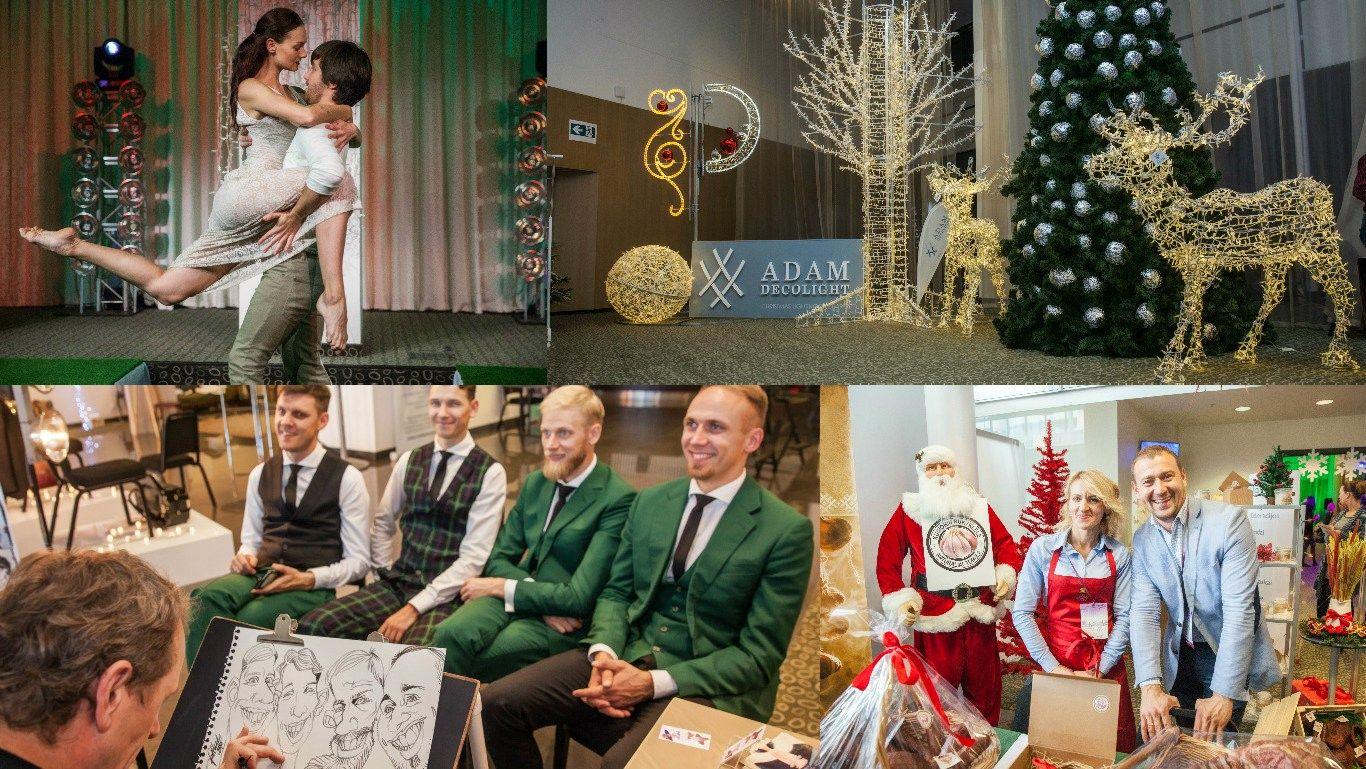 Renginys klientams: verslas jau pradėjo Kalėdų sezoną