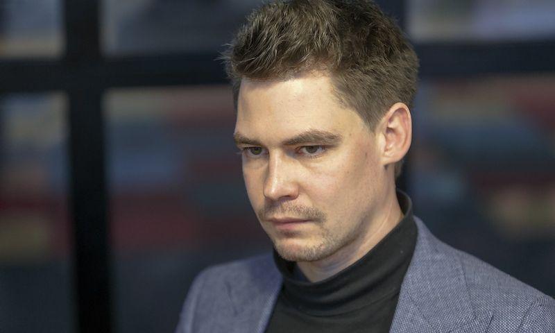 """Mantas Mikuckas, drabužių mainų platformos """"Vinted"""" vykdomasis direktorius. Vladimiro Ivanovo (VŽ) nuotr."""