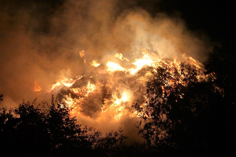 Radviliškyje tęsiama ekstremali padėtis, tiriama oro kokybė