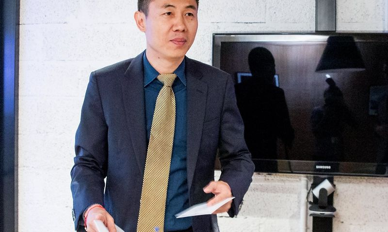 Luo Fengas, IBS vadovas. Juditos Grigelytės (VŽ) nuotr.
