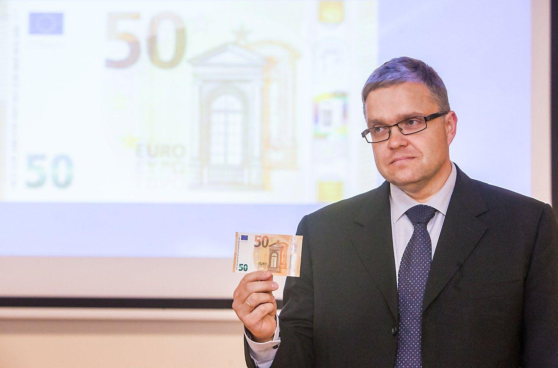 """Vasiliauskas: """"Deutsche Bank"""" nekelia sisteminės grėsmės"""