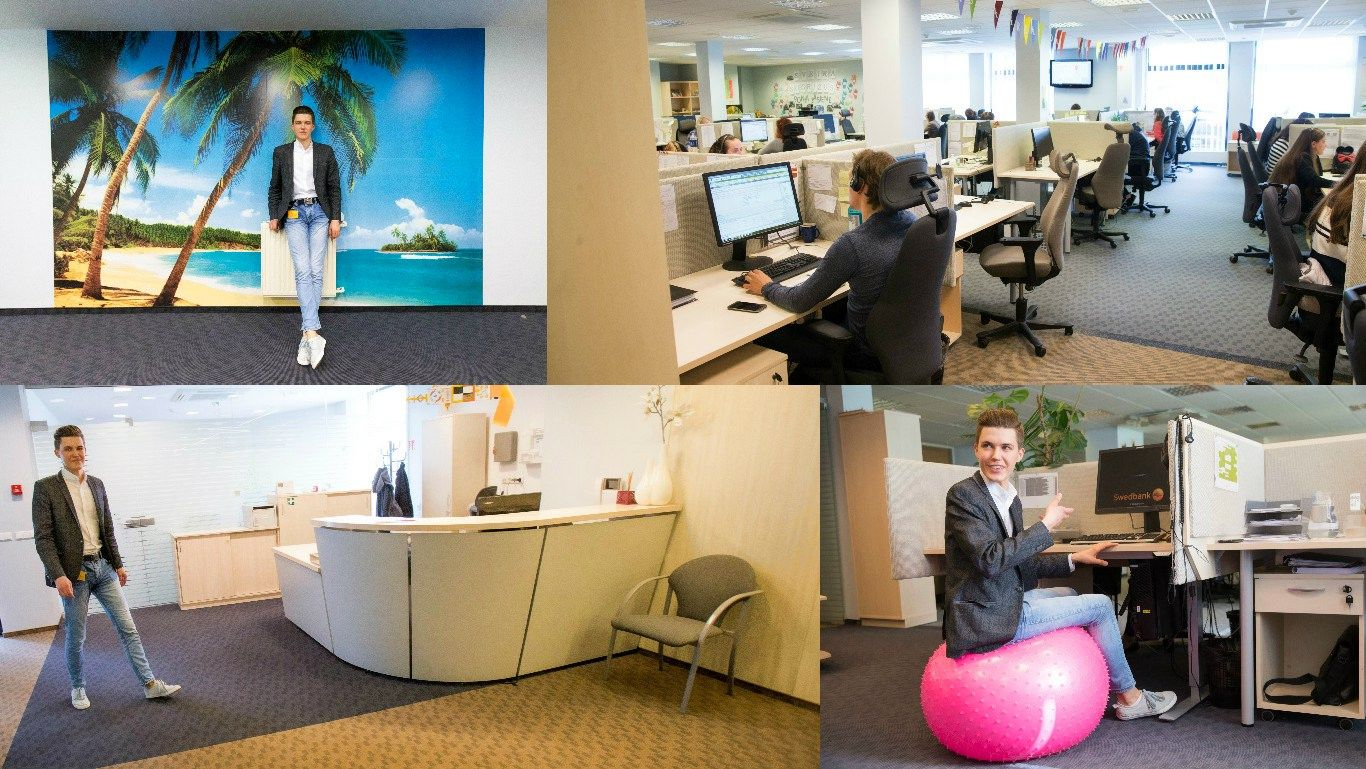 """Pirmosios darbo dienos """"Swedbank"""": per tris mėnesius tapo ateities bankininku"""