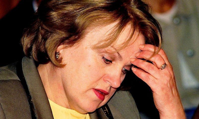 Kazimiera Prunskienė 1990-1991 m. vadovavo pirmąjai Lietuvos Vyriausybei po Nepriklausomybės atkūrimo. VŽ nuotr.
