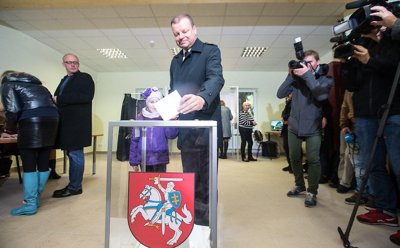 Skvernelis nenori prognozuoti būsimos koalicijos